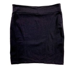 Arden B Black Mini Bodycon Skirt